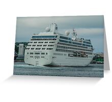 Ocean Princess Cruiser Greeting Card
