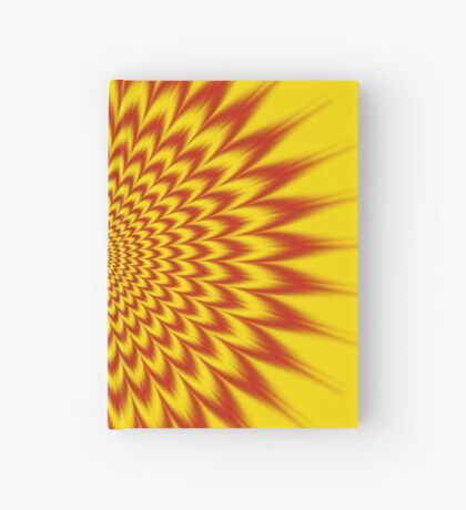 HYPNOTIC VIBES Hardcover Journal