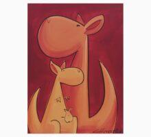 Splatter Mob (Kangaroos) Kids Tee