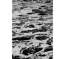 Troubled waters. Photographic Print