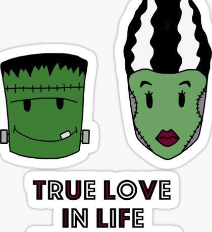 Halloween - True love Sticker