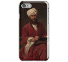 William Edward Dighton () in Middle Eastern Dress , Frederick Goodall iPhone Case/Skin