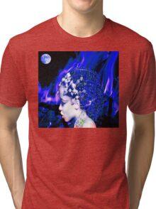 Blue Goddess Tri-blend T-Shirt