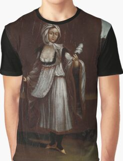Woman from the Island of Patmos, workshop of Jean Baptiste Vanmour,  Graphic T-Shirt