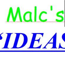 IDEAS BOOM (small) Sticker