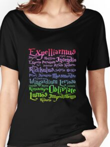 harry potter magic spelling Women's Relaxed Fit T-Shirt