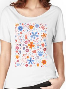 English Meadow Women's Relaxed Fit T-Shirt