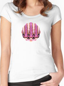 Passionately Yours - Brush Strokes Collection Women's Fitted Scoop T-Shirt