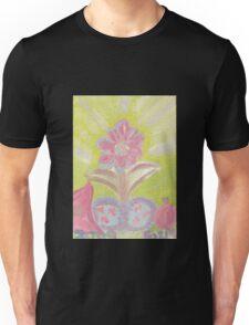 Painted Pastel Plant Unisex T-Shirt