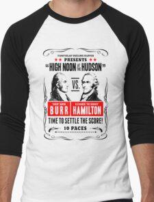 Burr Vs Hamilton Men's Baseball ¾ T-Shirt