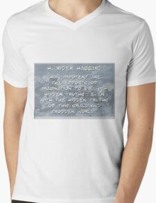 How Impotent Are The Efforts - Haggard Mens V-Neck T-Shirt