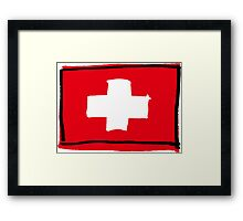 Swiss Framed Print