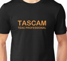 Orange Tascam Unisex T-Shirt
