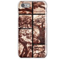 African Shadow Trees iPhone Case/Skin