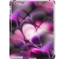 Meshed Pink-Purple iPad Case/Skin