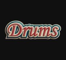 Vintage Drums One Piece - Short Sleeve