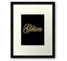 Old Golden Gibson Framed Print