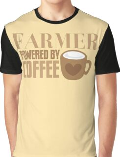 FARMER powered by coffee Graphic T-Shirt