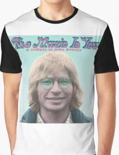 John Denver - The Music Is You Graphic T-Shirt