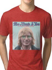John Denver - The Music Is You Tri-blend T-Shirt
