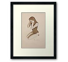 Jane 8 Framed Print