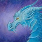 The Cool Blue Dragon by AlustrielDay