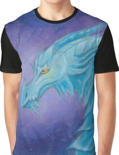 The Cool Blue Dragon Graphic T-Shirt