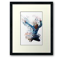 360° Framed Print