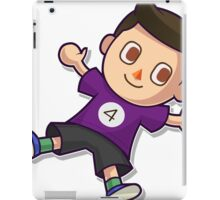 Purple Villager iPad Case/Skin