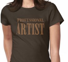 professional artist Womens Fitted T-Shirt