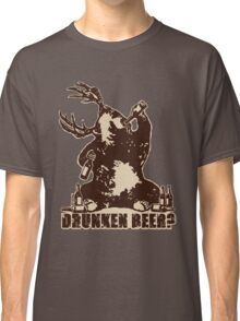 Deer, bear, drunken beer? Classic T-Shirt