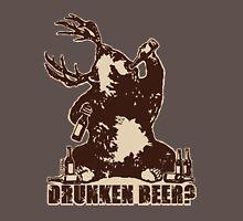 Deer, bear, drunken beer? Unisex T-Shirt