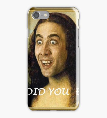 What Did You Expect? iPhone Case/Skin