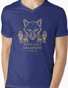 Leicester City Premier League Champions 1 Mens V-Neck T-Shirt