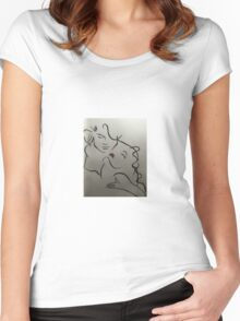 Embrace Women's Fitted Scoop T-Shirt