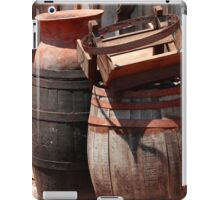 Vintage Pots and Barrels iPad Case/Skin
