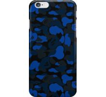 BLUE/NAVY CAMO iPhone Case/Skin