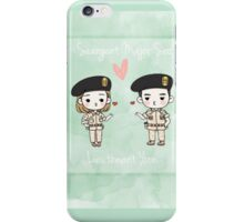 seo and yoon couple iPhone Case/Skin