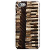 Stacked Boards Drying iPhone Case/Skin