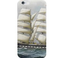 Antonio Jacobsen - The American full-rigger 'Jeremiah Thompson' ... iPhone Case/Skin