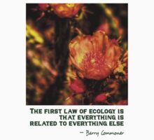 The First Rule of Ecology Kids Tee