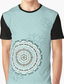 Lotus Weave Graphic T-Shirt