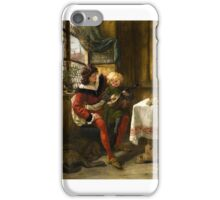 Antonio Vivaldi Concerto for two mandolins iPhone Case/Skin