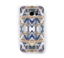 Tribal, Native American, Geometric, Blue Brown Pattern Samsung Galaxy Case/Skin