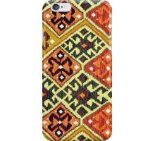 Tribal, Geometric, Diamond Shape, Bold and Bright iPhone Case/Skin