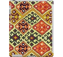 Tribal, Geometric, Diamond Shape, Bold and Bright iPad Case/Skin