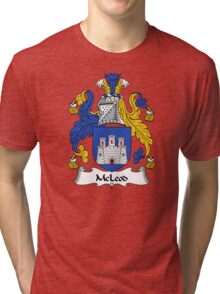 McLeod Coat of Arms / McLeod Family Crest Tri-blend T-Shirt