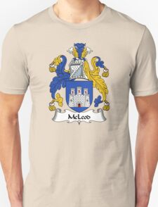 McLeod Coat of Arms / McLeod Family Crest Unisex T-Shirt