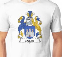 McLeod Coat of Arms / McLeod Family Crest Unisex T-Shirt