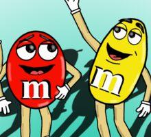 M&M's Strike A Pose Sticker